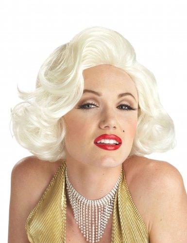 California Costumes - Parrucca classica da Marilyn Monroe, per adulti, biondo platino