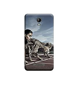 Ebby Premium Printed Back Case Cover With Full protection For Micromax Bolt Q335 (Designer Case)