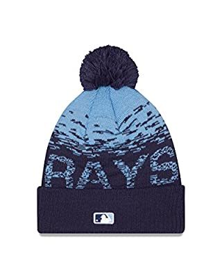 MLB Tampa Bay Rays Headwear, Navy/Sky Blue, One Size