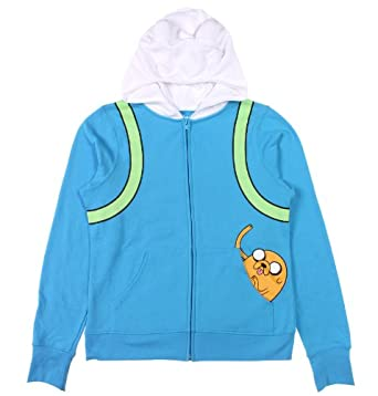 Amazon Com Adventure Time Women S Finn The Human Costume