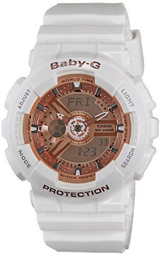 Casio-Baby-G-Analog-Digital-White-Dial-Womens-Watch-BA-110-7A1DR-BX016