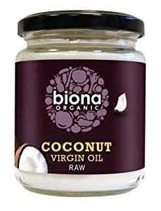 Org Raw Virgin Coconut Oil - Size: 200g from Biona