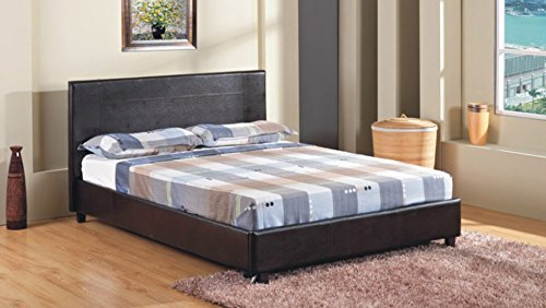 4ft-6-double-faux-leather-bed-frame-in-black-prado