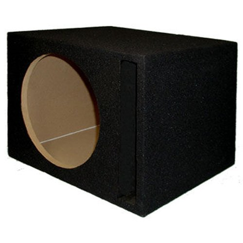 Sycho Sound New Single Car Black Subwoofer Box Ported Automotive Enclosure For 12-Inch Woofer 12Sp