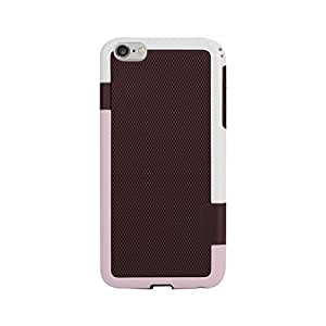 Reiko Dual Color Tpu+Pc Cover For Iphone6 Plus 5.5Inch Brown