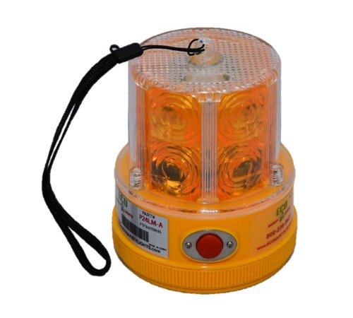 P24LM 24 LED AMBER PORTABLE SAFETY LIGHTS PERSONAL HAZARD EMERGENCY WARNING LIGHT AMBER (Portable Hazard Lights compare prices)