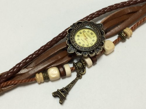 Dress up cute! Antique bracelet style Watch (Tower)