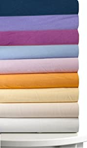 Magnolia Organics Fitted Crib Sheet - Standard, Orchid Purple