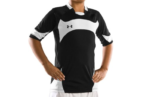 Buy Low Price Boys' UA Dominate Shortsleeve Soccer Jersey Tops by Under Armour (B00533NW7C)
