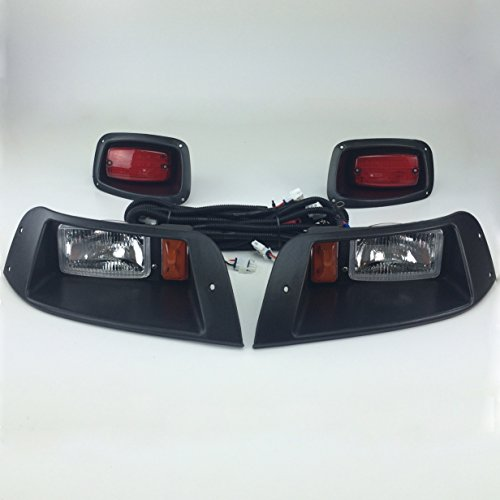 Golf Cart Headlights : New recreation pro txt golf cart adjustable light kit w
