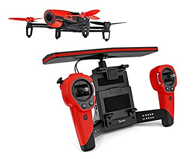Parrot Red Bebop with SkyController Dual Band WiFi RC Drone by Parrot
