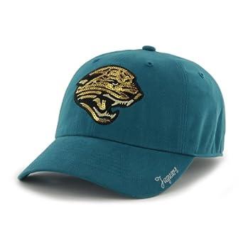 NFL Jacksonville Jaguars Ladies Sparkle Team Color, Dark Teal by