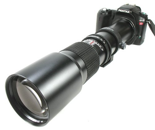 500Mm Rokinon Telephoto Lens For Pentax *Ist, K10D, K100D, K20D Dslr