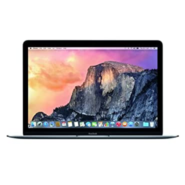 Apple MacBook MJY32LL/A 12 Laptop with Retina Display (Space Gray, 256 GB)