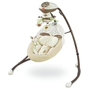 Fisher-Price Cradle 'N Swing,  My Little Snugabunny $99