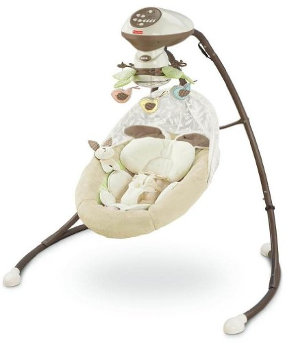 41u82oyhGRL Reviews   Fisher Price Cradle N Swing,  My Little Snugabunny