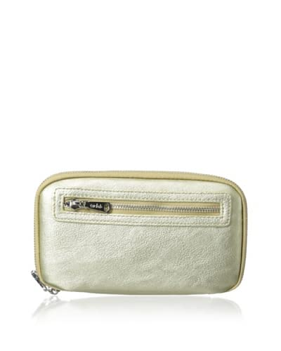Co-Lab by Christopher Kon Women's Zip-Around Wallet, Gold As You See