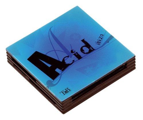Lecteur de cartes mémoire Acid - Bleu  Existe aussi en Vert