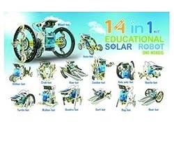 OWI 14 in 1 Educational Solar Robot Kit