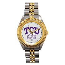 Texas Christian Horned Frogs Suntime Ladies Executive Watch - NCAA College Athletics