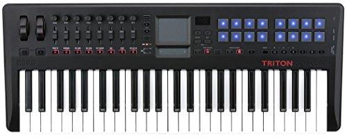 Korg-Triton-TAKTILE-TR49-teclado-controlador-USB-con-motor-Triton-Sonido