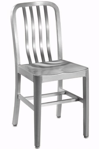 Cheap Sandra Side Chair With Aluminum Seat METAL