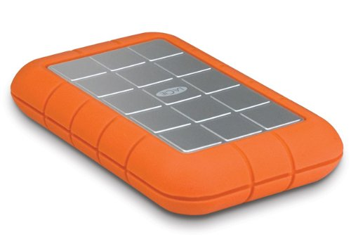 LaCie Rugged Triple 301982 500GB USB 3.0 and Firewire 800 Portable Hard Disk Drive