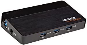 AmazonBasics 10-Port USB 3.0 Hub
