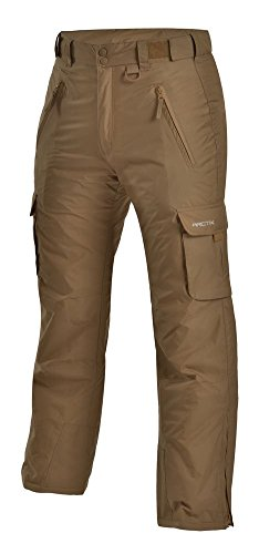 Arctix Men's Classic Cargo Snow Pants, Small, Khaki