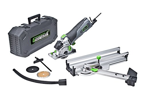Learn More About Genesis GPCS535KM TrakRunner Plunge Circular Saw Kit, 3 1/2