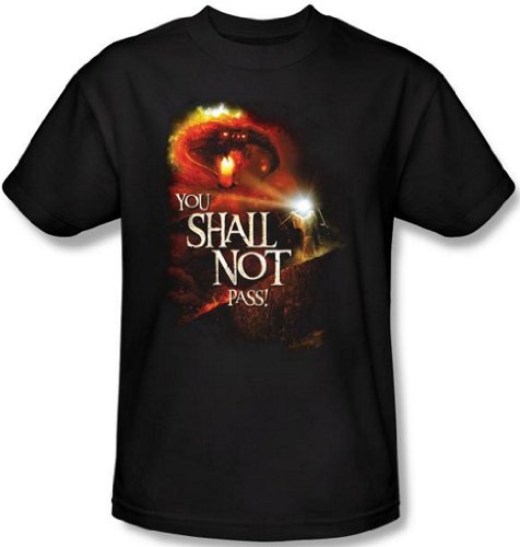 Lord of the Rings - You Shall Not Pass T-Shirt