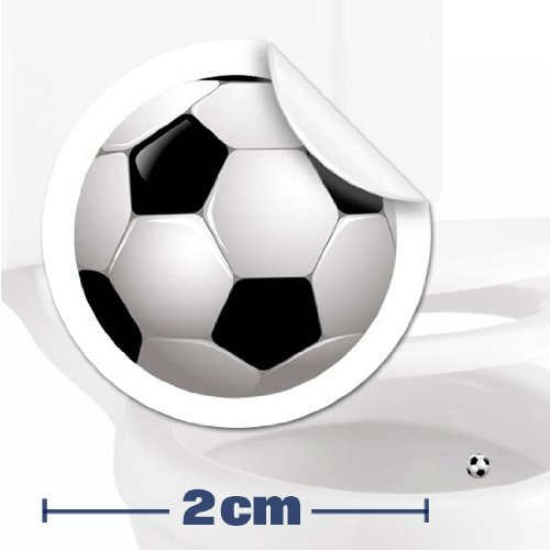 TOILET TRAINING AID For Children Toddlers Boys Funny Bathroom/Restroom Potty Urinal Trainer 10 x SOCCER TARGET STICKERS (2cm)