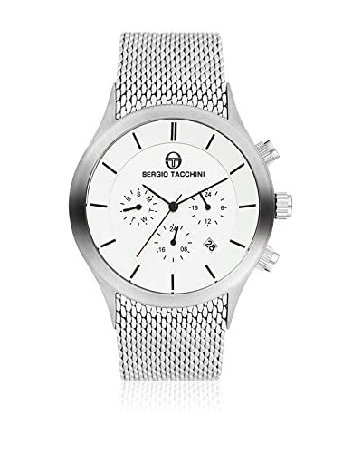 Sergio Tacchini Reloj de cuarzo Man Plata 43 mm