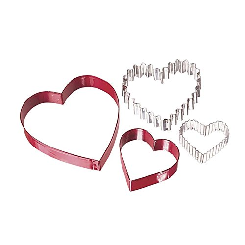 Wilton From The Heart Nesting Cookie Cutter Set (Valentine Cookie Dough compare prices)