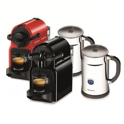 Nespresso Inissia Espresso Maker  Aeroccino Plus