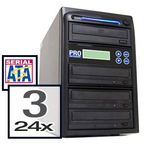 Produplicator 1 to 3 SATA 24X CD DVD Duplicator