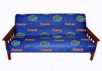 College Covers Florida Gators Futon Cover - Full size fits 6 and 8 inch mats by College Covers