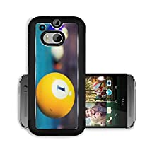 buy Liili Premium Htc One M8 Aluminum Case A Vintage Style Photo From Billiard Balls In Pool Table Noise Added For Film Effect Image Id 22134213