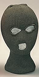 Rothco 3 Hole Acrylic Face Mask, Olive Drab
