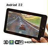 Android アンドロイド タブレットPC 「OS:2.1 ファームウェア:2.1 CPU:Telechip8902 720MHz メモリー:256MB ハードディスク:2GB 液晶サイズ:7吋 」   販売元:UNSショップ