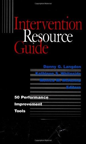Intervention Resource Guide: 50 Performance Improvement...
