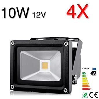 1x Neu 10W LED Fluter Strahler Flutlicht Außen Scheinwerfer SMD IP66 wetterfest