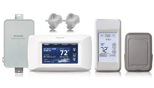 Honeywell YTHX9421R5077 - Prestige IAQ 2.0 HD 2-Wire Thermostat Kit (Honeywell Iaq Kit compare prices)