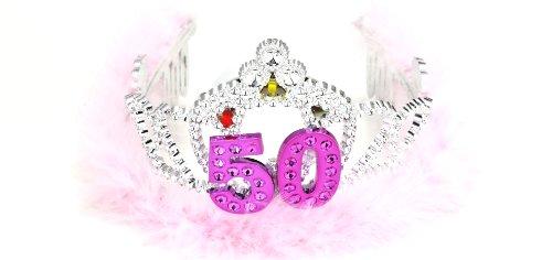 Forum Novelties Flashing Birthday Tiara #50 Novelty Item