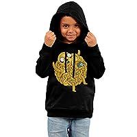 Kid's Flying Spaghetti Monster Fleece Hoodie Sweatshirt