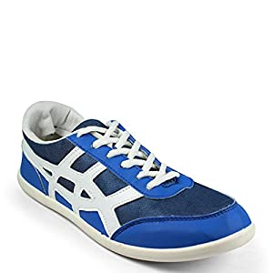 Globalite Men's Casual Shoes Wings ACE Blue White GSC0349