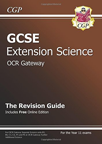 GCSE Further Additional (Extension) Science OCR Gateway Revision Guide (with Online Edition)