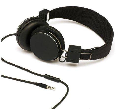 Urbanears Plattan On-Ear Dj Headphones Black