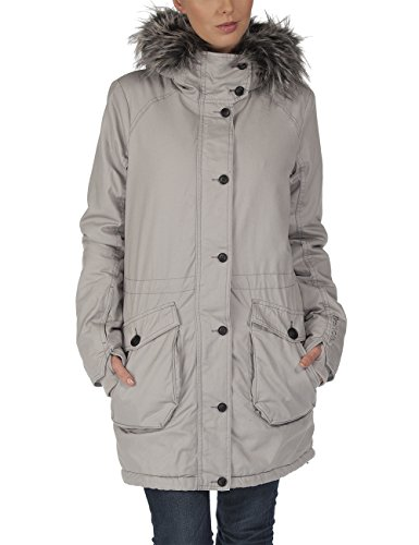 Bench - Giacca Parka, Wolfish II C, Marrone - Grigio - Neutral Grey, Large