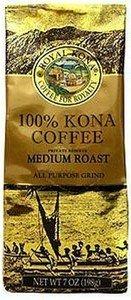 Royal Kona - 100% Kona Coffee 7Oz - Medium Roast (Ground)